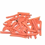Tagua Nut Sticks - Orange