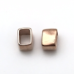 Regaliz™ Rectangle Beads - Rose Gold