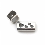 Regaliz™ Cut Out Heart spacer per piece