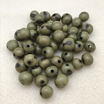 Acai Beads - Olive Green