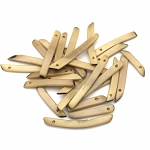 Tagua Nut Sticks - Beige