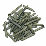 Tagua Nut Sticks - Olive Green