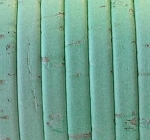 Cork 5mm Flat Leather per 2 YARDS Pale Turquoise