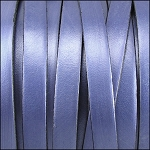 Metallic Flat Leather 5mm - per inch Lt Blue