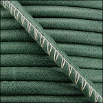 5MM ROUND ARIZONA LEATHER PER INCH Forest Green