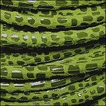5MM ROUND CANCUN LEATHER PER INCH Lime