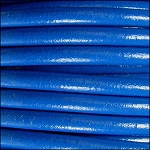 5MM ROUND EURO LEATHER PER YARD - Electric Blue