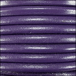5MM ROUND EURO LEATHER PER YARD - Purple