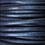 5MM ROUND EURO LEATHER PER YARD - Galaxy