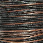 Natural Dye 2mm Leather per 3 yards Sippa
