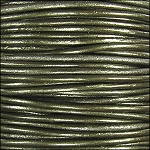 Metallic 1.5mm Leather per 3 yards Guariya