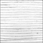 2mm Leather per 3 yards White