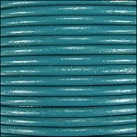 1mm Leather per spool Turquoise