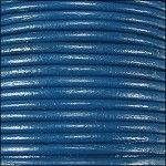 1mm Leather per spool Dark Blue