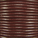 2mm Leather per 3 yards dark brown