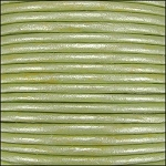 Metallic 1.5mm Leather per 3 yards Fern Green