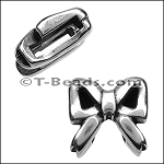 Open bow slider ANT SILVER per piece