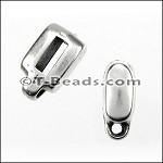 MINI charm holder slider ANT SILVER per piece