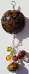 Tortoise Shell Glass Pendant