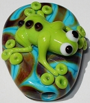 Croak Glass Lampwork Beads