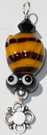 Bumble Bee Glass Pendant