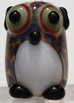 Owl Glass Lampwork Beads