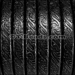 Regaliz™ Leather EMBOSSED - Black