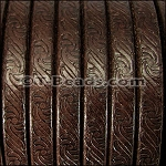Regaliz™ Leather EMBOSSED - Brown