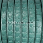 Regaliz™ Scales Leather - Turquoise