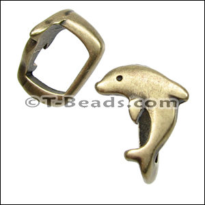 Regaliz™ dolphin spacer per piece