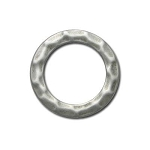 Large Hammered Ring