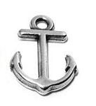 Small Anchor Charm - Pk of 4
