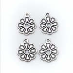 Cut Out Flower Charm- Pk of 4