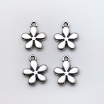 Small Flower Charm- Pk of 4