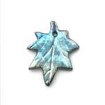 Xaz Bead Co. - Sugar Maple Leaf Pendant
