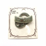 Clay River Porcelain Toggle Clasp