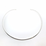 Round German Silver Necklace