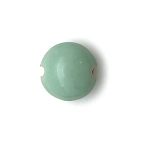 Golem Small Lentil Bead - Light Jade