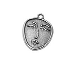 Face Charm- Pk of 2