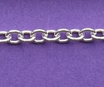 Sterling Silver Chain - Cable Chain