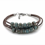 Floating Bead Bracelet Kit - Turquoise