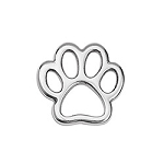 Paw Frame Charm- Pk of 2