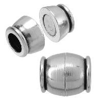5mm round SMALL ROUND BARREL magnetic clasp