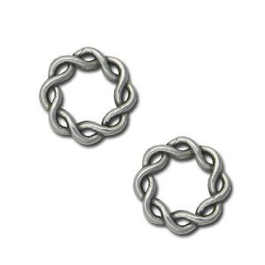 Twisted Ring - Pk of 4