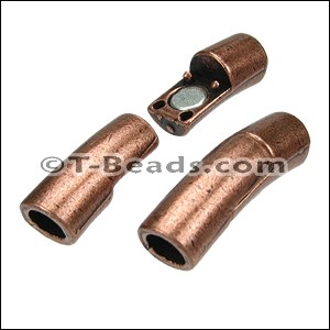 MAGNETIC tube clasp - Copper