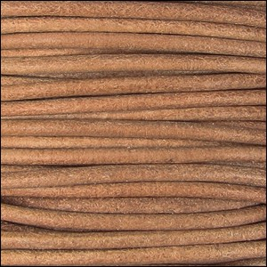 Natural Dye 2mm Leather per 3 yards Natural