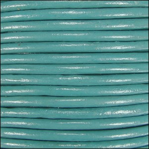 2mm Leather per 3 yards Lt Turquoise