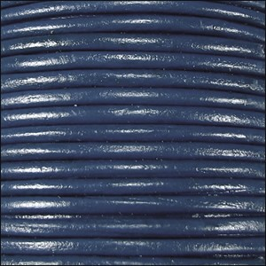 1.5mm Leather per spool Navy