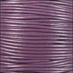 2mm Leather Spool Violet