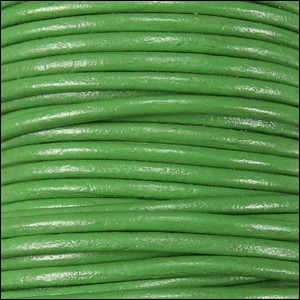 1mm Leather per spool green